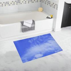 Blue Clouds Bath Rug 20''x 32''