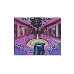 "promenade Hall Canvas Print 20""x16"""