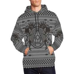 Native American Kokopelli Musicans - Modern Sun Ra All Over Print Hoodie for Men (USA Size) (Model H13)