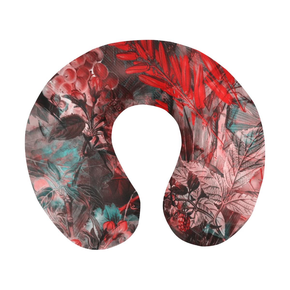 flowers #flowers #pattern U-Shape Travel Pillow