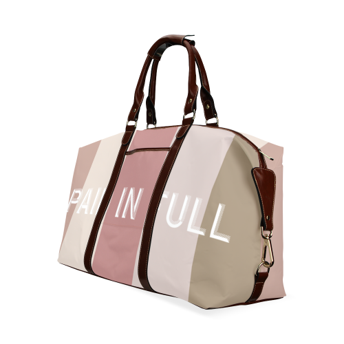 paid-in-full travel bag Classic Travel Bag (Model 1643) Remake