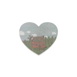 BEDDING Heart Coaster