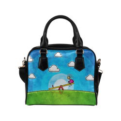 Imaginary Friend Shoulder Handbag (Model 1634)