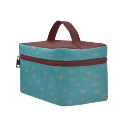 Funky Magic Hearts Cosmetic Bag/Large (Model 1658)