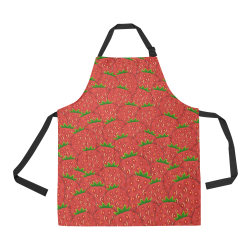 Strawberry Patch All Over Print Apron