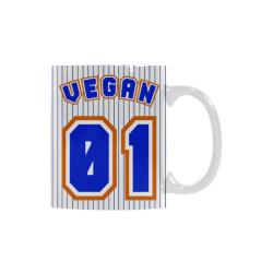 No. 1 Vegan White Mug(11OZ)