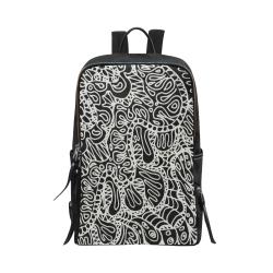Doodle Style G361 Unisex Slim Backpack (Model 1664)