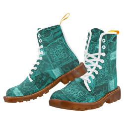Green Queen Martin Boots For Women Model 1203H