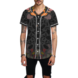 zappwaits k02 All Over Print Baseball Jersey for Men (Model T50)