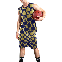LCC Deluxe Chest board All Over Print Basketball Uniform
