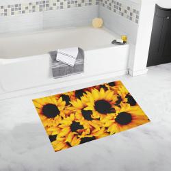 Sunflower Love Bath Rug 20''x 32''