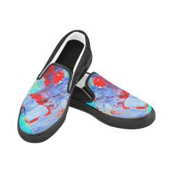 oil_k Women's Unusual Slip-on Canvas Shoes (Model 019)