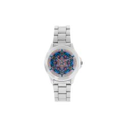 maguen mandala 4 Unisex Stainless Steel Watch(Model 103)