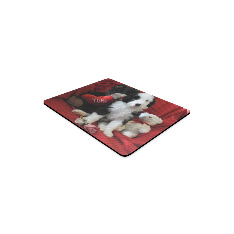 Be My Valentine Rectangle Mousepad