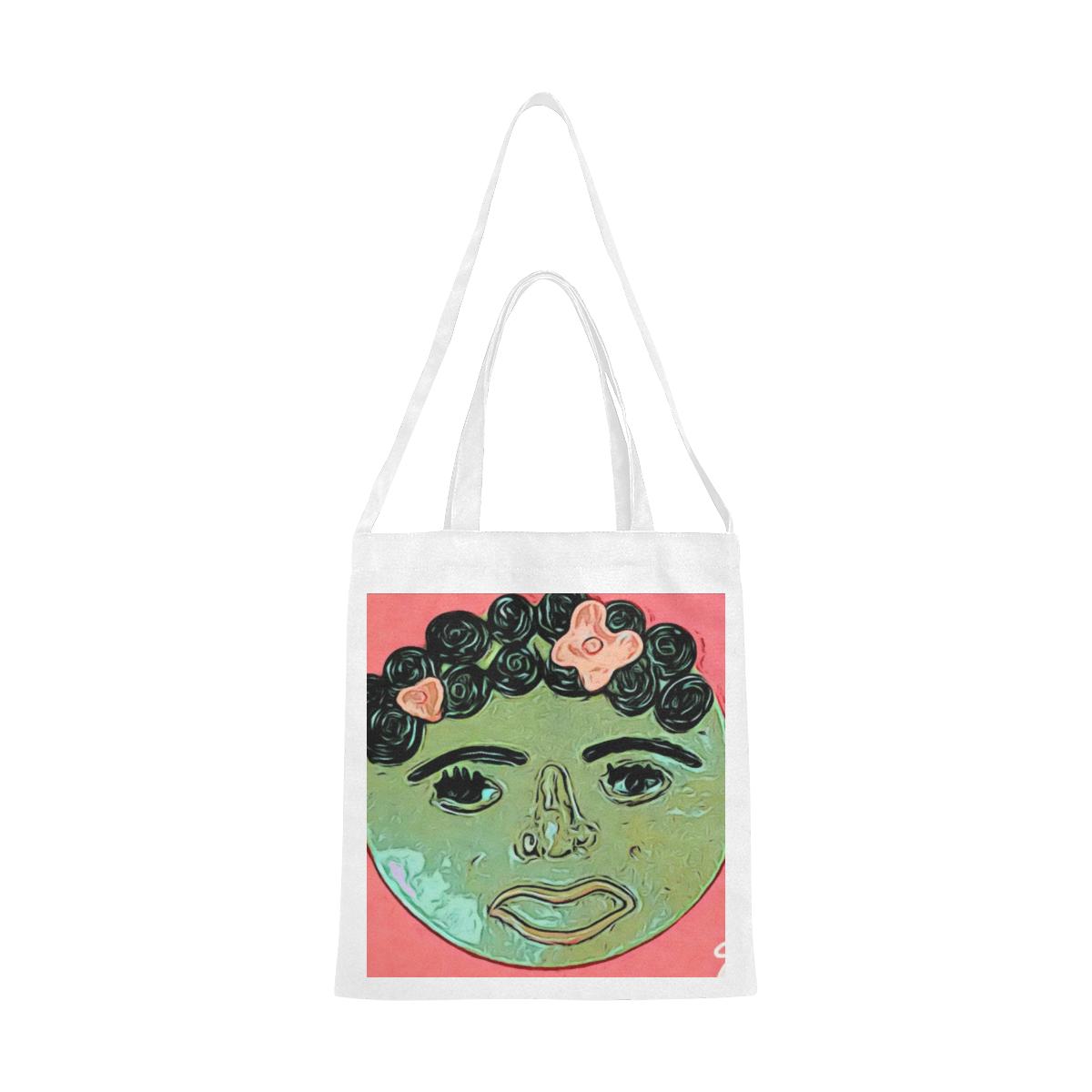 Serenity Canvas Tote Bag/Medium (Model 1701)
