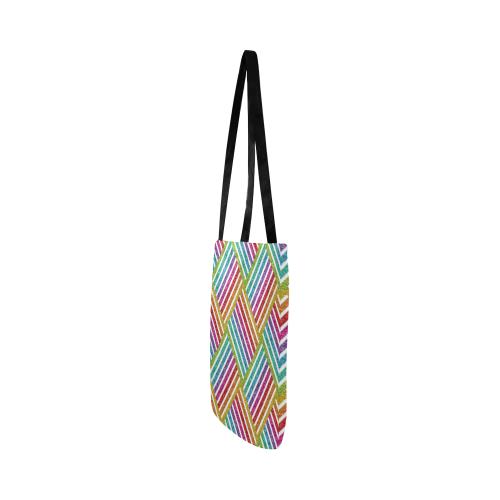 glitter rainbow Reusable Shopping Bag Model 1660 (Two sides)