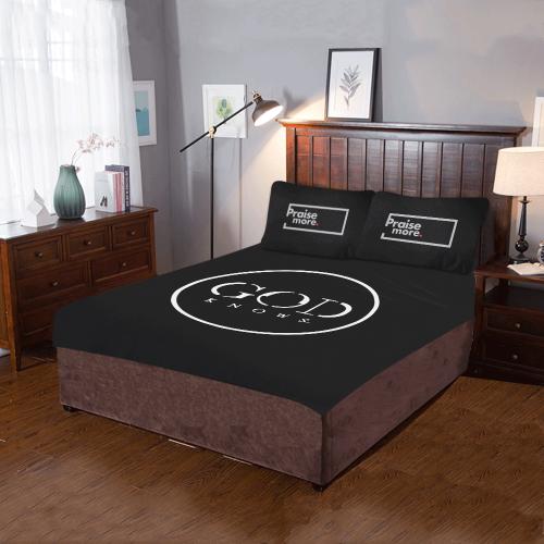 Praise More 3-Piece Bedding Set