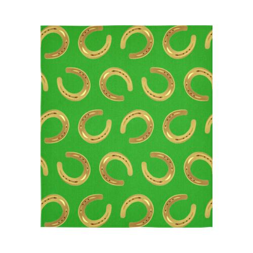 "Golden horseshoe Cotton Linen Wall Tapestry 51""x 60"""