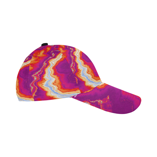 Neon Geode All Over Print Baseball Cap B