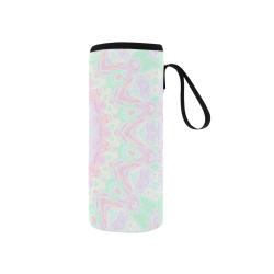 Pastel Mandala Neoprene Water Bottle Pouch/Small