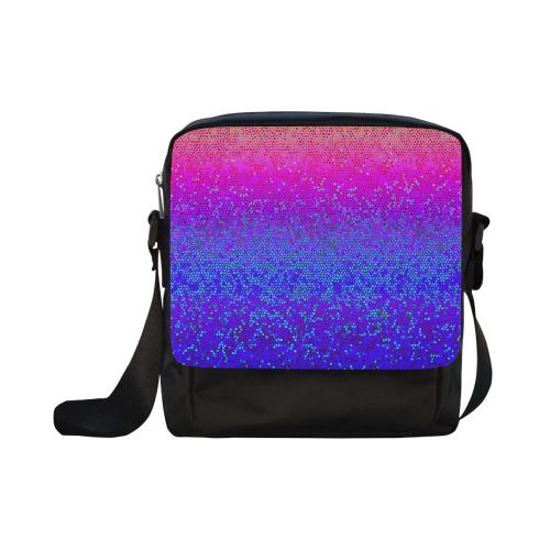 Glitter Star Dust G248 Crossbody Nylon Bags (Model 1633)