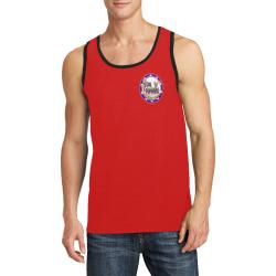 LasVegasIcons Poker Chip - Las Vegas Sign on Red Men's All Over Print Tank Top (Model T57)