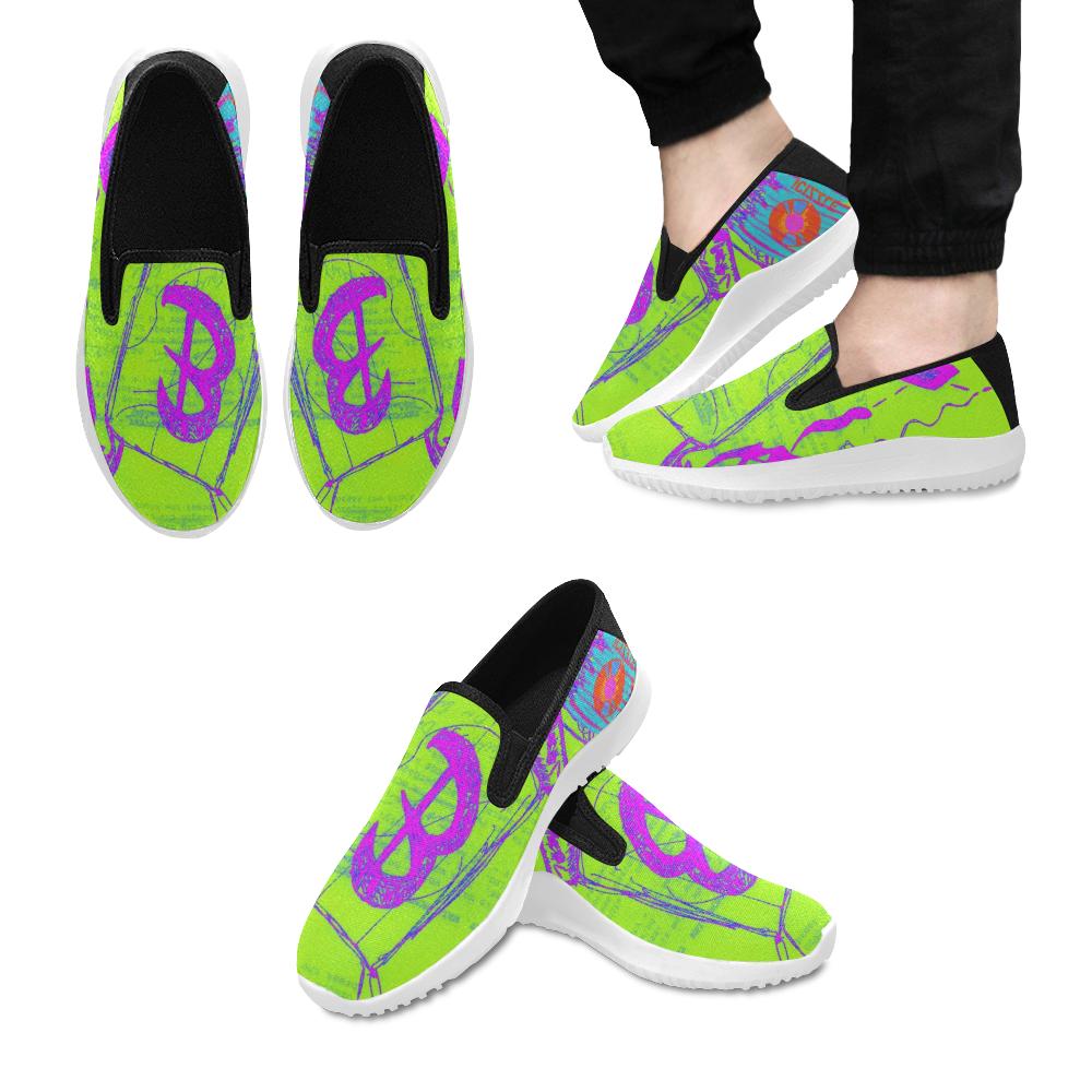 Bagman004 Orion Slip-on Men's Canvas Sneakers (Model 042)