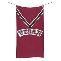 """Vegan Cheerleader Bath Towel 30""""x56"""""""