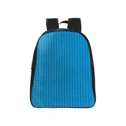 PLASTIC School Backpack (Model 1601)(Medium)