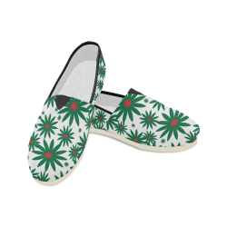 Computer painting of Petals1 Unisex Casual Shoes (Model 004)