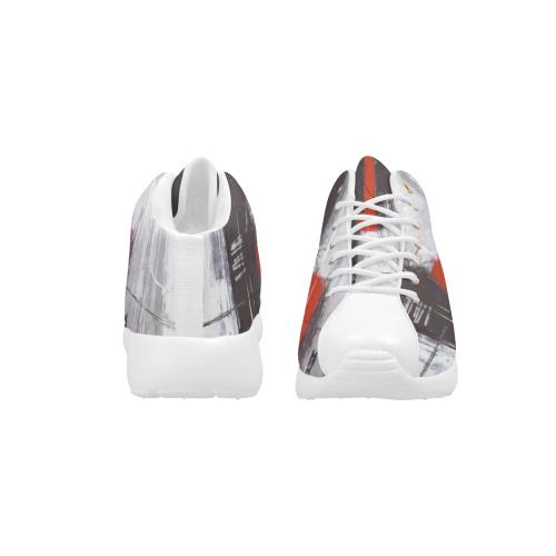 Black & red Men's Basketball Training Shoes (Model 47502)