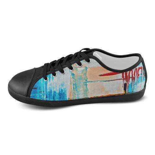 oil_h Women's Canvas Shoes (Model 016)