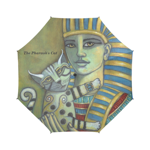 The Pharaoh's Cat Semi-Automatic Foldable Umbrella (Model U05)