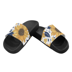 Sunflower Women's Slide Sandals Women's Slide Sandals (Model 057)