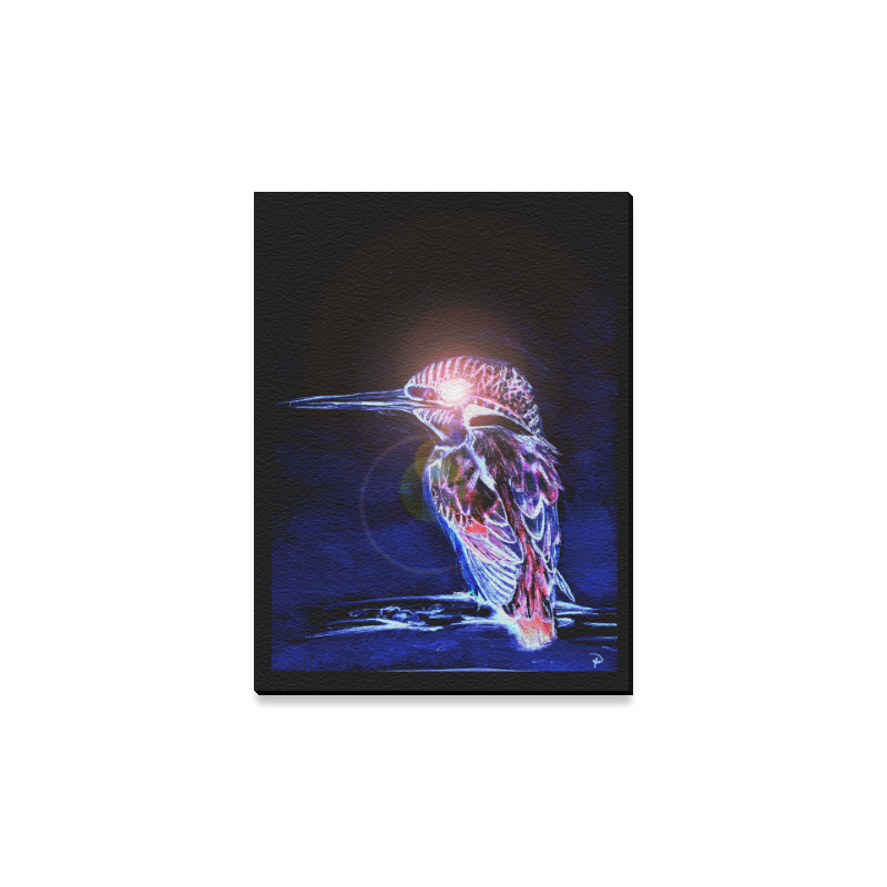 "Kingfisher Canvas Print 12""x16"""