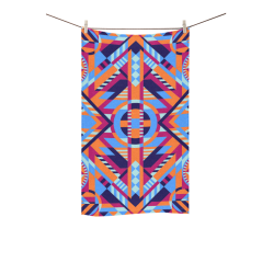 "Modern Geometric Pattern Custom Towel 16""x28"""