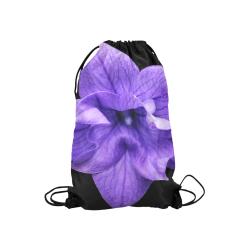 "Balloon Flower Small Drawstring Bag Model 1604 (Twin Sides) 11""(W) * 17.7""(H)"