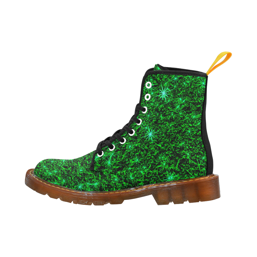 Sparkling Green by Jera Nour Martin Boots For Women Model 1203H