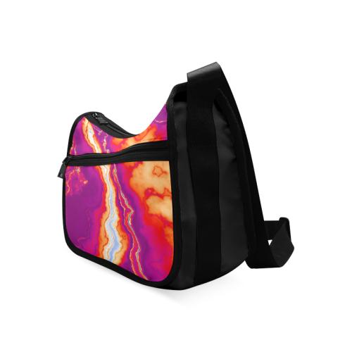 Neon Geode Crossbody Bags (Model 1616)