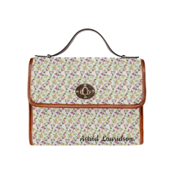63st Waterproof Canvas Bag/All Over Print (Model 1641)