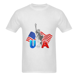 T Shirt liberties USA Men's T-shirt in USA Size (Front Printing Only) (Model T02)