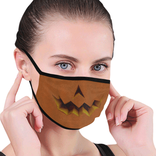 Jack O Lantern Mouth Mask