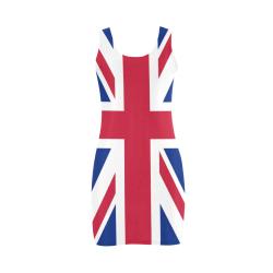 Union Jack Retro Sixties by ArtformDesigns Medea Vest Dress (Model D06)