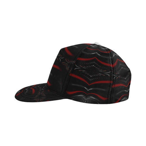 5000DUBLE 47 E 4 All Over Print Snapback Hat D