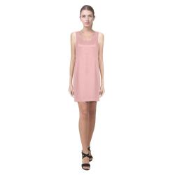 Soft Pink Helen Sleeveless Dress (Model D10)