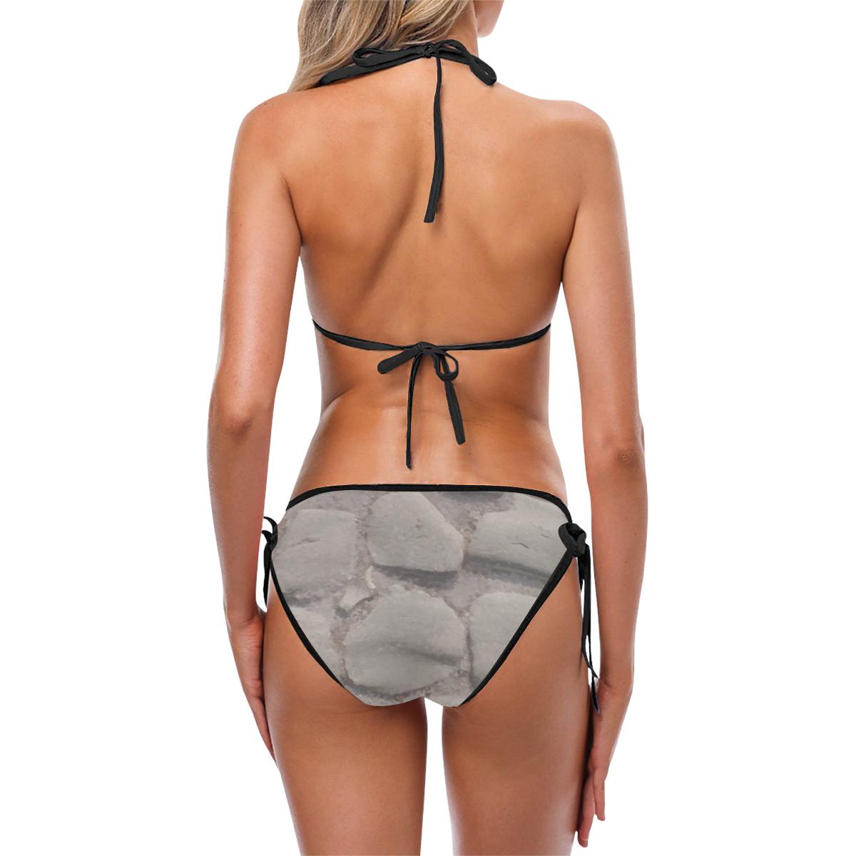 Stone Bikini Custom Bikini Swimsuit (Model S01)