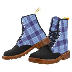 STRIPES LIGHT BLUE Martin Boots For Men Model 1203H