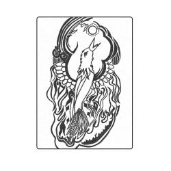 """Phoenix Tattoo Blanket 58""""x80"""""""