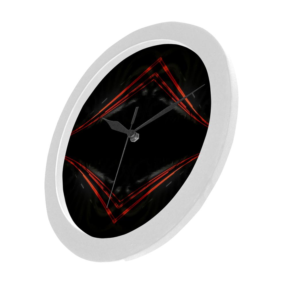 10000 art324 32 Circular Plastic Wall clock