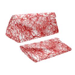 Cracked 2 red Custom Foldable Glasses Case